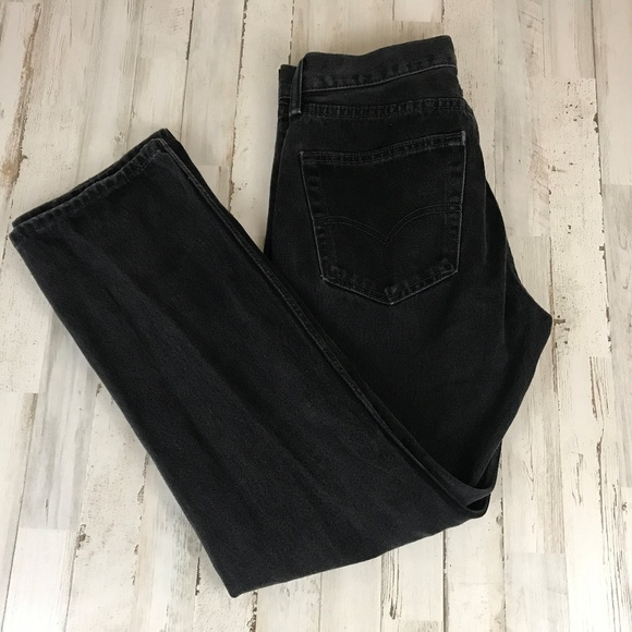 Levi's Other - Levi's Mens Jeans 31 x 30 Black 505 Straight Leg